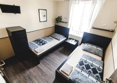 pokoje ubytovani hostel u areny ostrava